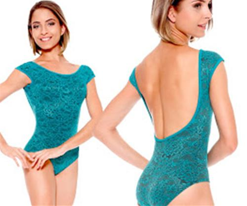 BODY DI PIZZO FODERATO  COD.E11129 So danca